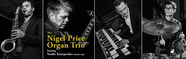 "The Nigel Price Organ Trio: ""Wes Re-Imagined"""