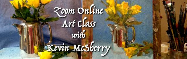 Zoom Art Class: Thursday Evenings