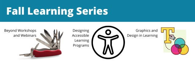 Fall Learning Series