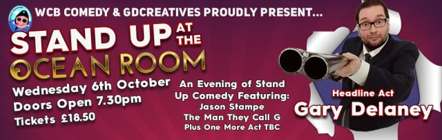 Stand Up at the Ocean Room