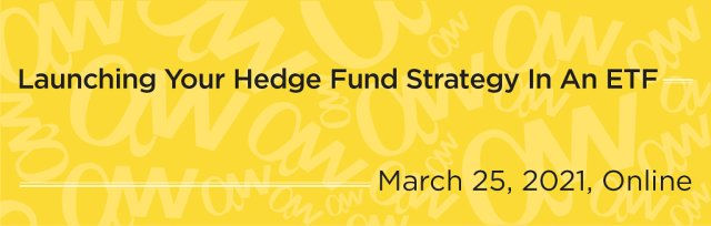 Launching Your Hedge Fund Strategy In An ETF