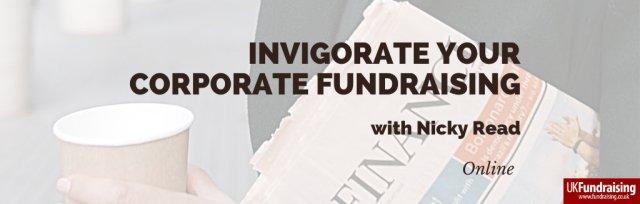 Invigorate your corporate fundraising