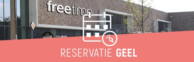 Reservatie winkelbezoek Freetime Geel