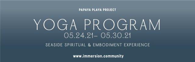 IMMERSION YOGA PROGRAM May