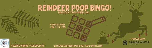 Reindeer Poop Bingo