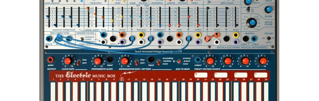 Modular Synthesis Workshop using Buchla Music Easel by Stevie Richards
