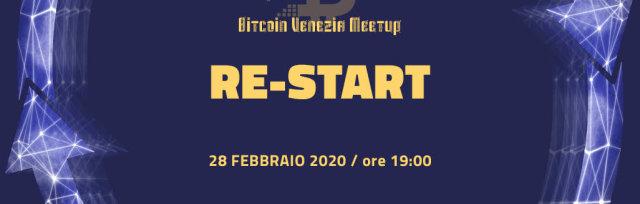 RINVIATO - Bitcoin Venezia Meetup   Re-Start