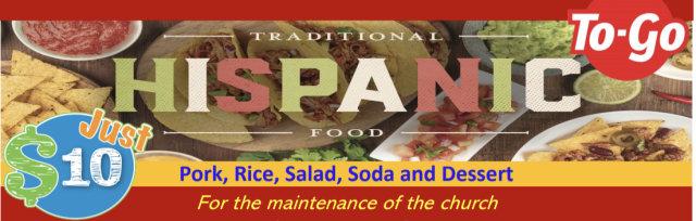 Hispanic Food (To Go)