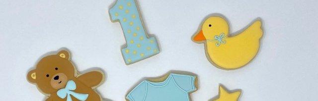 Intro to Cookie Decorating: Baby Shower Theme Instructor: Renata Galatti