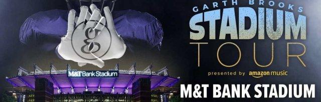 Garth Brooks $56.00 Round Trip Shuttle from Frederick, MD to M & T Bank Stadium