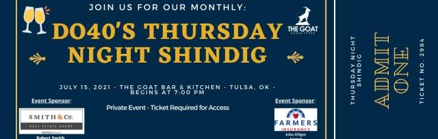 DO40's Thursday Night Shindig