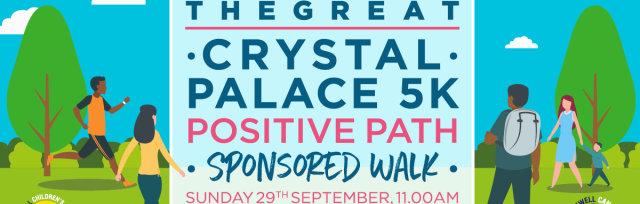 The Great Positive Path 5K Sponsored Walk