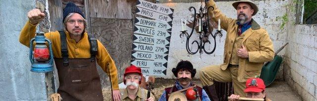 Roochie Toochie & The Ragtime Shepherd Kings' Maine Songs Tour