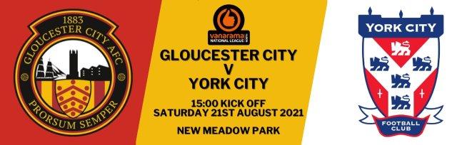 Gloucester City AFC V York City F.C