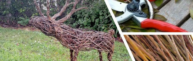 Willow Weave a Reindeer with Sarah Edwards - £74
