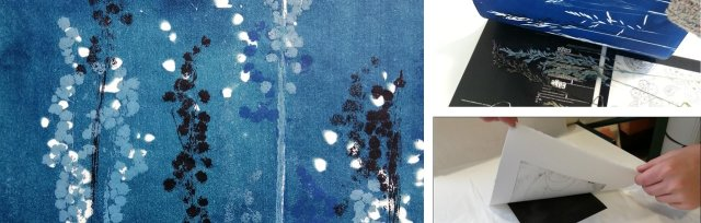 Autumnal Mono Prints Using Natural Forms with Abi Nicol - £74