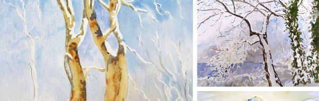 Winter in Watercolours with Rita Dee - £74