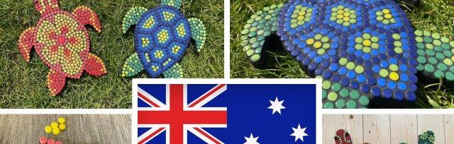 Australia - Aboriginal Style Mosaic Turtles with Yvette Green - £74