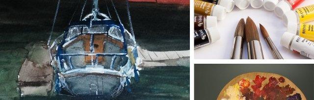 Intermediate Watercolours with Warren Sealey - £120