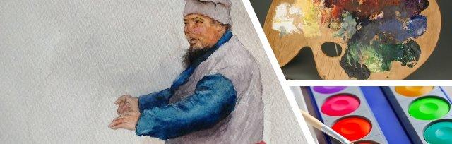 Beginners Watercolours with Warren Sealey - £120