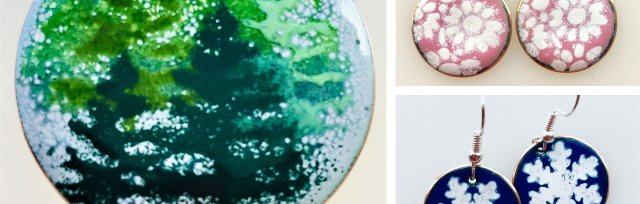 Enamelling at Christmas with Sally Davis - £74