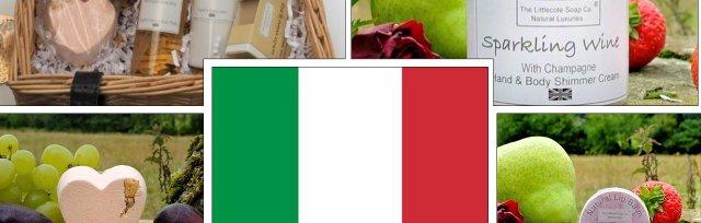 Italy - Scents of Italy - Pamper Hamper with Liz Tucker - £74