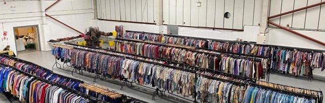 Sheffield Vintage Warehouse Kilo Sale