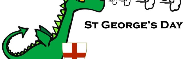 St Georges day in the Gardens