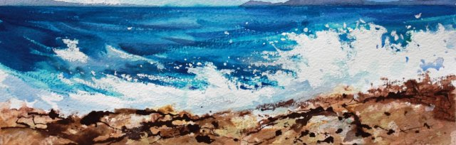 Turf and Surf in Pastels painting weekend with Kevin Scully [ref #452]