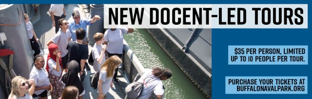Docent-Led Tour of the Buffalo Naval Park