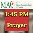 3- Third Prayer starts at 1:45 PM image