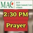 4- Fourth Prayer starts at 2:30 PM (Arabic Khutbah)  الخطبة بالعربي image