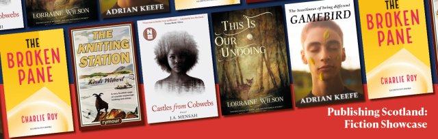 Book Week Scotland: Publishing Scotland fiction showcase