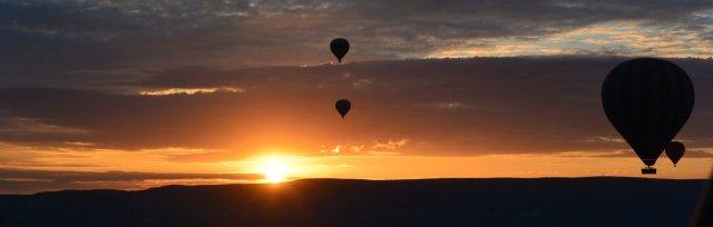 Hot Air Balloon Sunrise