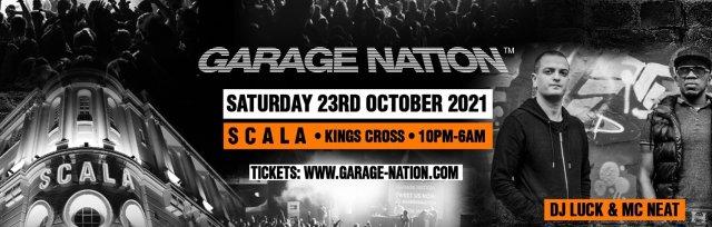 Garage Nation Scala Birthday Offer