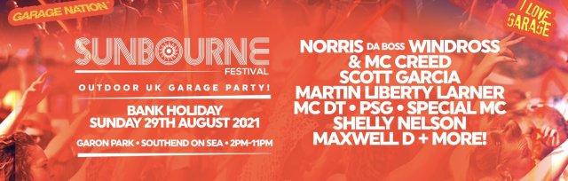 Sunbourne UK Garage Outdoor Party