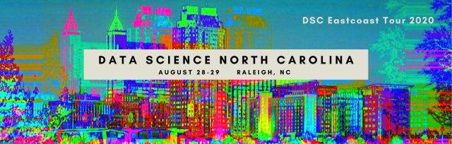 (Virtual) Data Science North Carolina Conference 2020