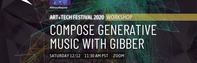 Workshop: Compose Generative Music With Gibber