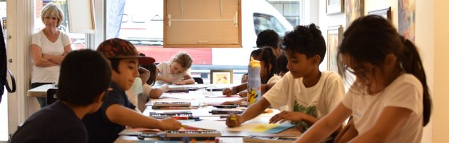 Thursday Arts Class ONLINE - Fall session - 6 to 9 year olds - October 21 to December 9, 2021