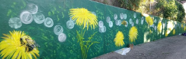 Wincott Park Mural Consultation with Khaula Mazhar