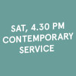 4.30 PM Sat [VACCINATED] Contemporary Service (18 Sep 2021) image