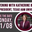 An Evening with President Katherine Banks image