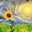 Van Gogh-inspired Sunflowers image