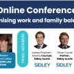Dads in Law Online Conference:  Strategies for Maximising Work and Family Balance image
