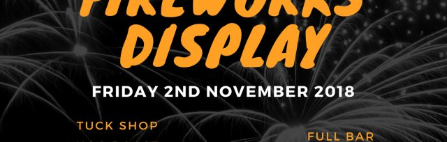 Clitheroe CC Bonfire & Fireworks Display 2018
