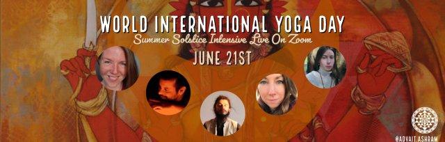 WORLD INTERNATIONAL YOGA DAY