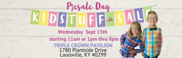 KidStuff Sale Presale Day
