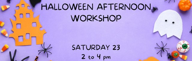 Atelier Halloween - Age 4 to 7