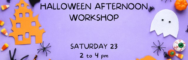 Atelier Halloween - Age 8 to 12