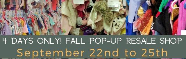 Fall/Winter Sale September 22-25th